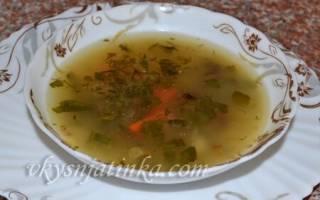 Грибной суп из маслят рецепт