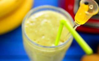 Смузи с бананом рецепт