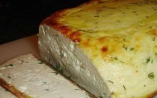 Домашний сыр в духовке рецепт