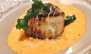 Морские гребешки с соусом рецепт