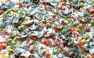 Пицца с солеными грибами рецепт