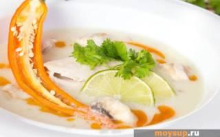 Суп Том Кха рецепт
