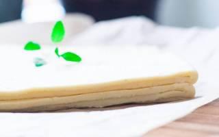 Слоеное тесто классическое рецепт