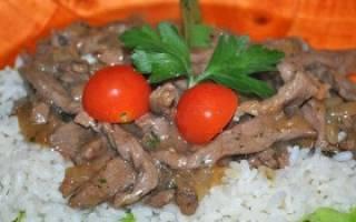 Говядина приготовленная на сковороде рецепт