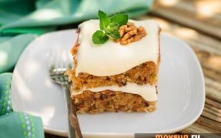 Морковный торт со сметаной: рецепт с фото пошагово в домашних условиях