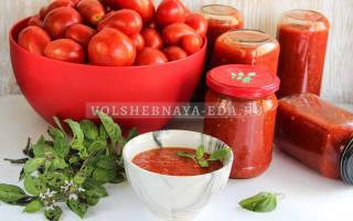 Соус из болгарского перца и помидор рецепт
