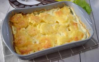 Картошка со сливками в духовке рецепт