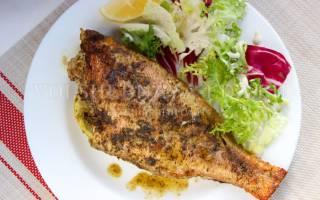 Морской окунь в духовке рецепт