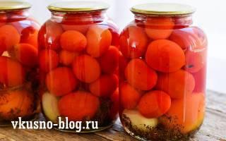 Маринованные помидоры сладко-острые рецепт