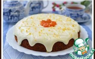 Простой морковный пирог рецепт