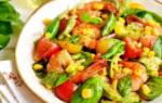 Постный салат с кальмарами рецепт