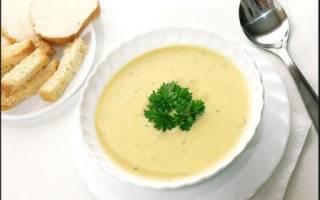 Суп пюре в мультиварке