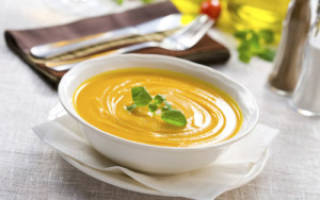 Диетический крем суп рецепт