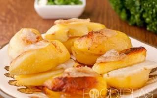 Картошка с салом в мультиварке