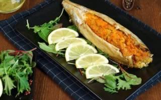 Скумбрия в духовке с овощами рецепт