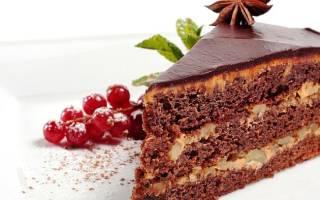 Торт постный рецепт