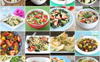 Салат из овощей с кунжутом рецепт