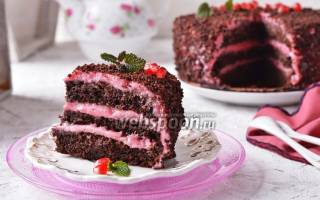 Постный шоколадный торт рецепт