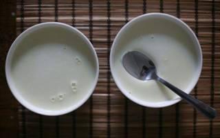 Пудинг из молока