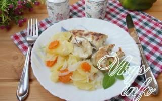Судак с картошкой в духовке рецепт