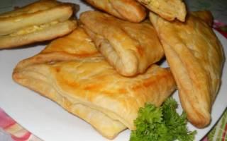 Хачапури с сыром из готового теста рецепт