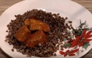 Гуляш из свинины с подливкой рецепт