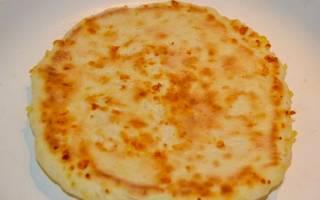 Сырные лепешки за 5 минут рецепт