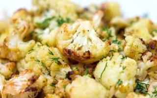 Как вкусно приготовить цветную капусту на гарнир рецепт