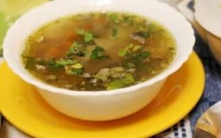 Суп из сайры рецепт