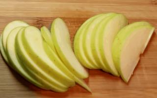 Яблочные розочки