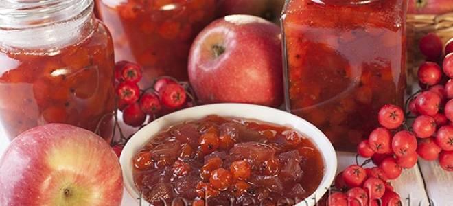 Варенье из рябины красной с яблоками рецепт