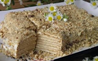 Торт печенье со сметаной рецепт
