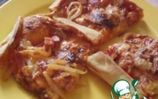 Быстрое тесто на пиццу без дрожжей рецепт