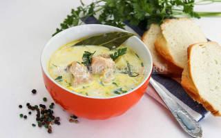Суп из горбуши консервированной