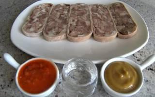Сальтисон из говядины: рецепт с фото