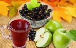 Компот из черноплодки и яблок рецепт