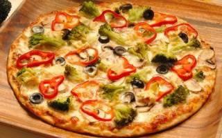 Быстрая пицца на кефире рецепт