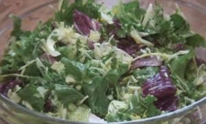 Салат из листьев салата рецепт