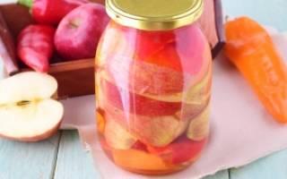 Перец с яблоками на зиму рецепт