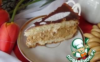 Торт в духовке рецепт