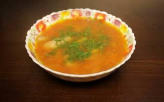 Фасолевый суп в мультиварке рецепт