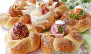 Пасхальные булочки