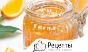Яблочное варенье с апельсином рецепт