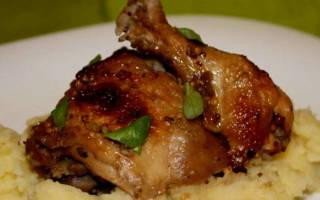 Курица с яблоками в мультиварке рецепт