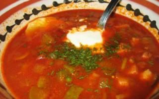 Суп в скороварке рецепт