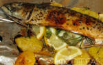 Скумбрия фаршированная с картофелем, луком, морковью: рецепт с фото