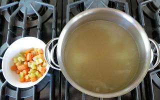 Суп из домашней курицы рецепт