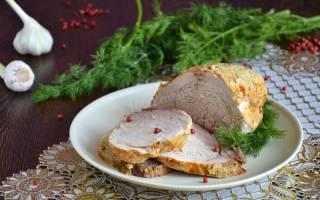 Буженины из свинины в фольге рецепт