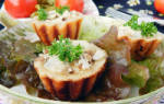 Жюльен из грибов в тарталетках рецепт