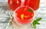 Вишня-абрикос-клубника (компот в мультиварке) рецепт